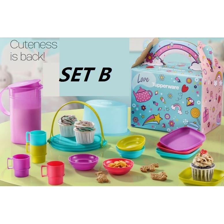 Tupperware Mini Masak Set A Or Set B