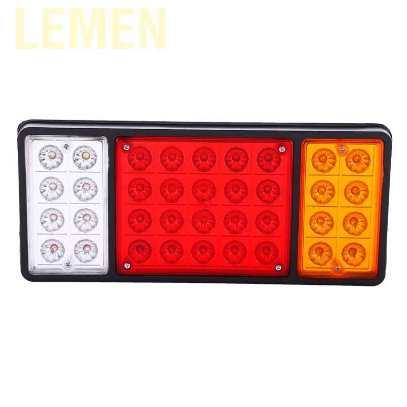 Akozon Universal Red 24 LED Car High Mount Third 3RD Brake Stop Tail Light Lamp 12V