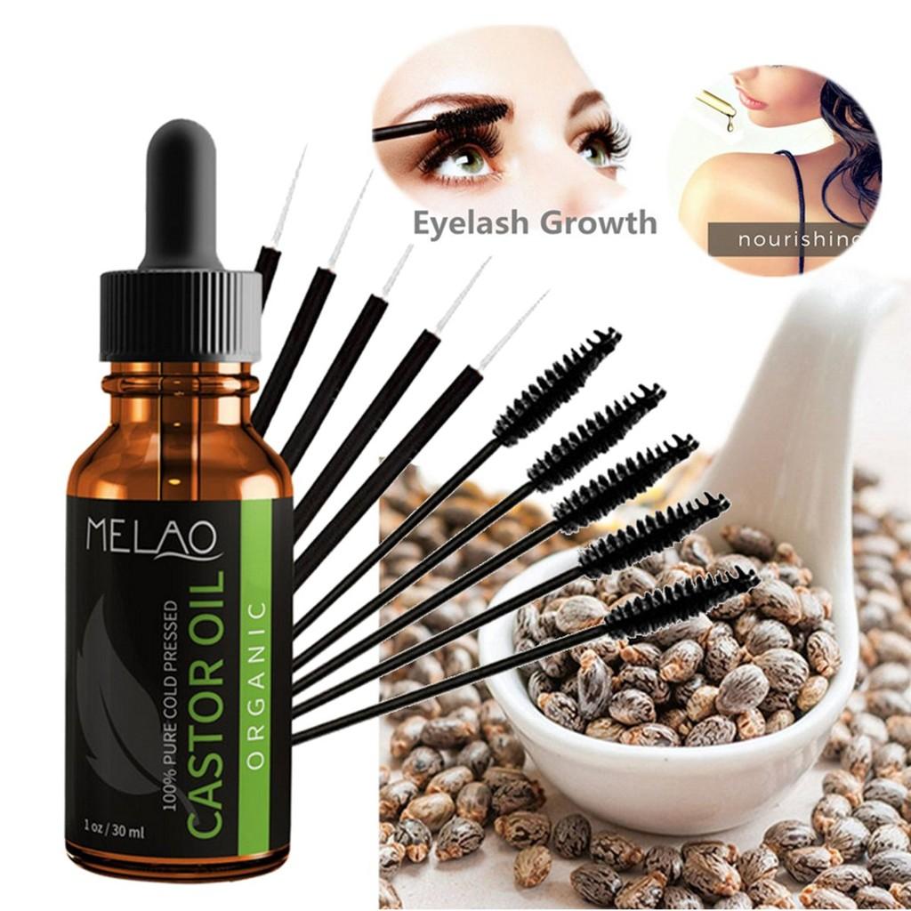 c669298f657 Organic Castor Oil Hair Growth Eyelash Enhancer Eyelash Growth   Shopee  Malaysia