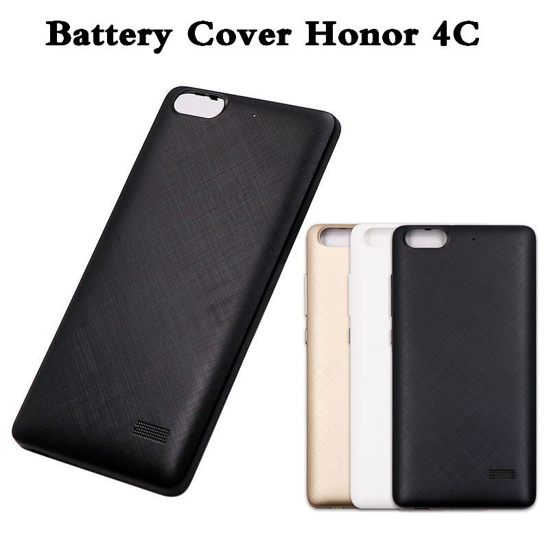 separation shoes bc99b b8a11 Housing For Huawei Honor 4C battery back cover Black/white/gold