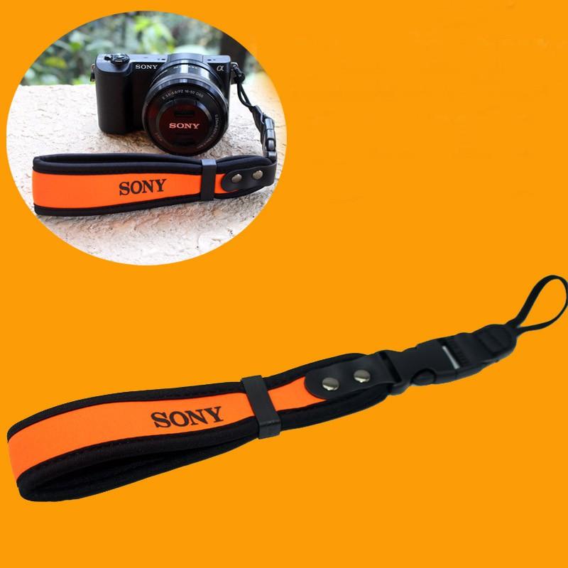 Neoprene Wrist Strap for Sony DSLR Cameras (Ready Stock In Malaysia)