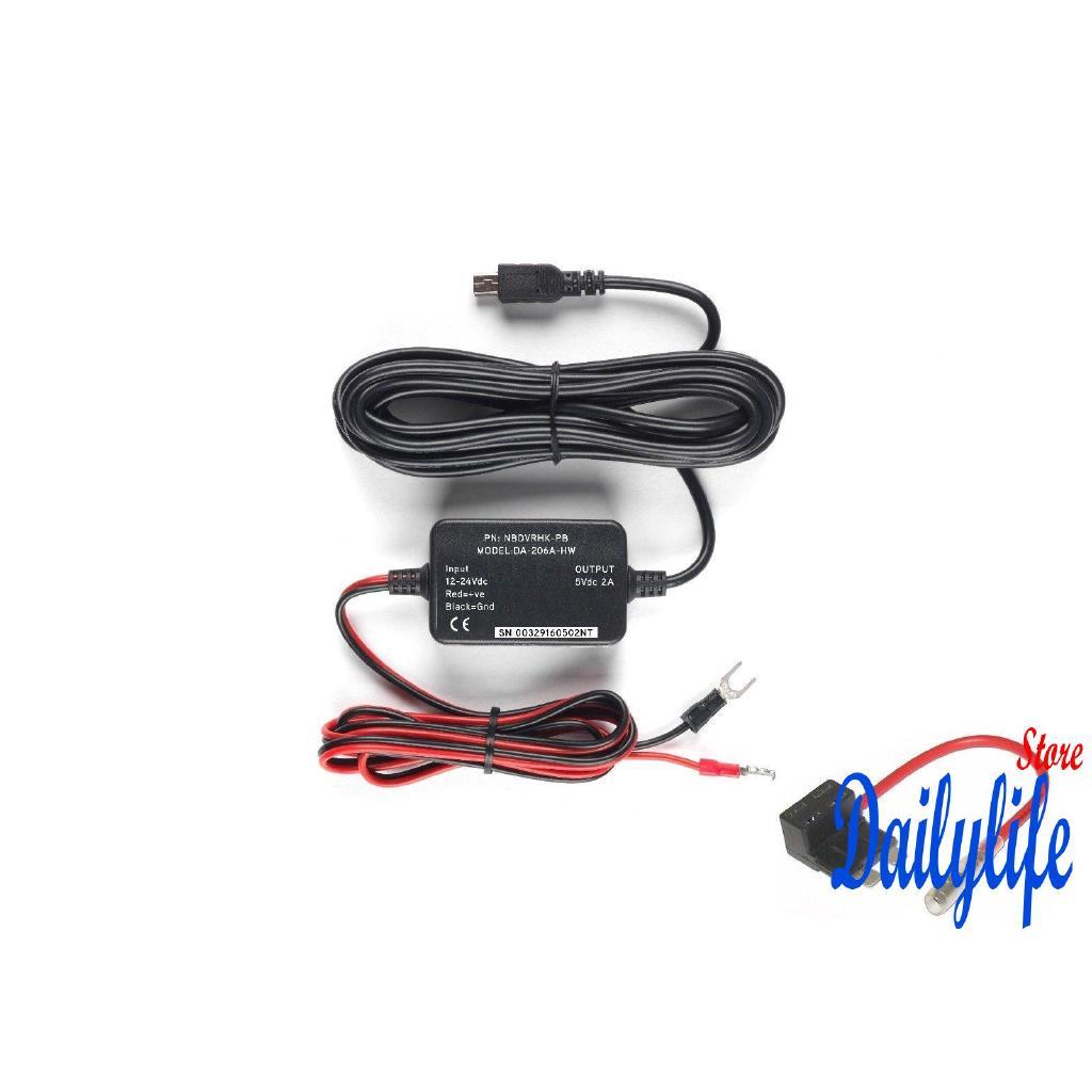 MIL-Nextbase Hard Wire Kit Car Dash Cam Camera 101 112 212 302 312 on
