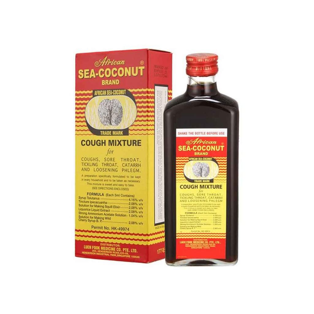 African Sea-Coconut Cough Syrup (177ml) / Ubat Batuk Kelapa Laut