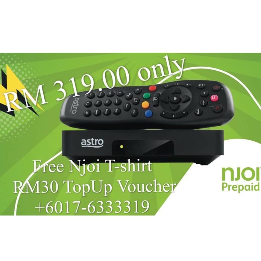 NJOI Free Satellite TV from Astro (Njoi Decoder)