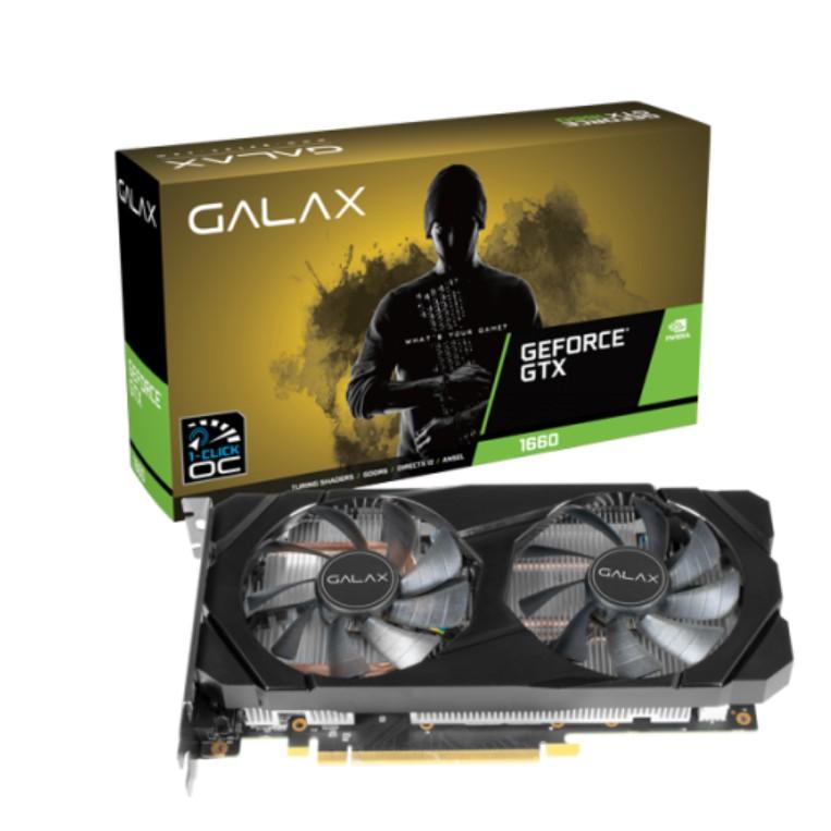 # GALAX GeForce GTX 1660 [1-Click OC] 6GB GDDR5 #