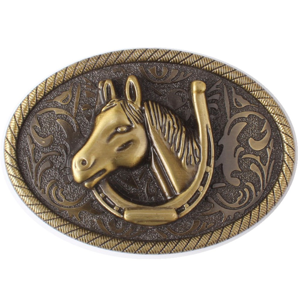 Horse Western Men/'s Belt Buckles for women Texa Cowboy Rodeo Vintage Belt Buckle