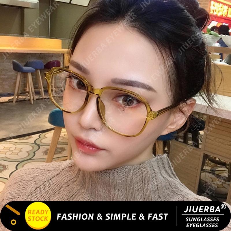 【READY STOCK】Korean Design Candy Color Frame Eyeglasses Women Aviator Style Eyeglasses