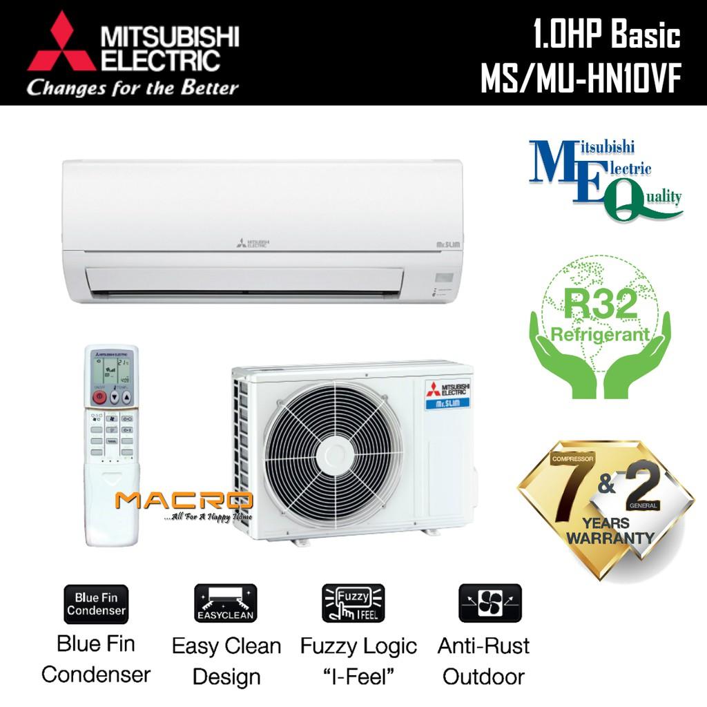Mitsubishi 1HP / 1 5HP / 2HP / 2 5HP Non-Inverter Air Conditioner (R32)  Aircond