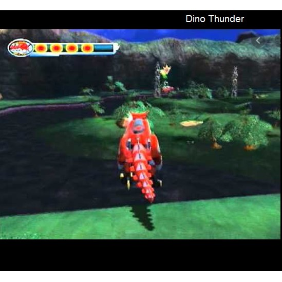 PS2 Game Power Rangers: Dino Thunder, English version, Action Game