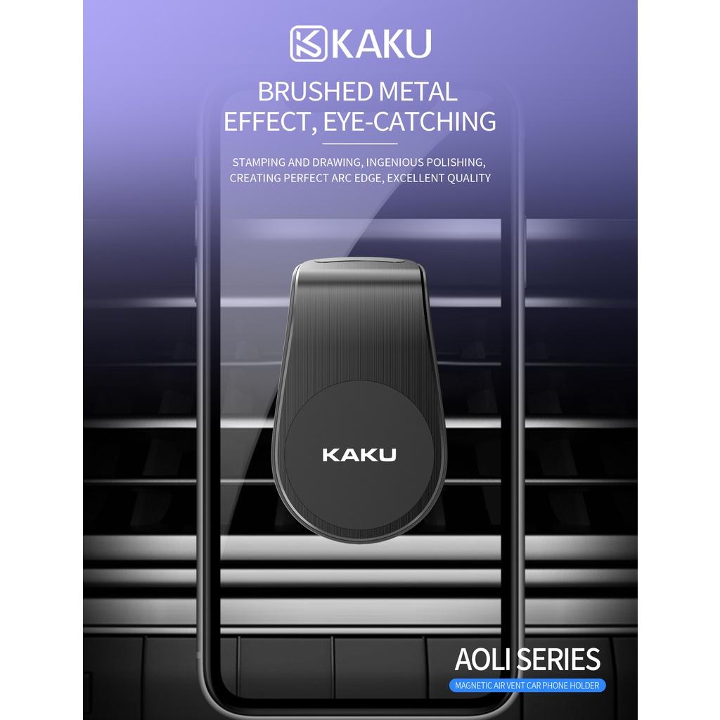 IKAKU KAKU AOLI Magnetic Air Vent Car Driver Clip Mobile Phone Holder Metal Plate Smartphone iOS Android Waze Google Map