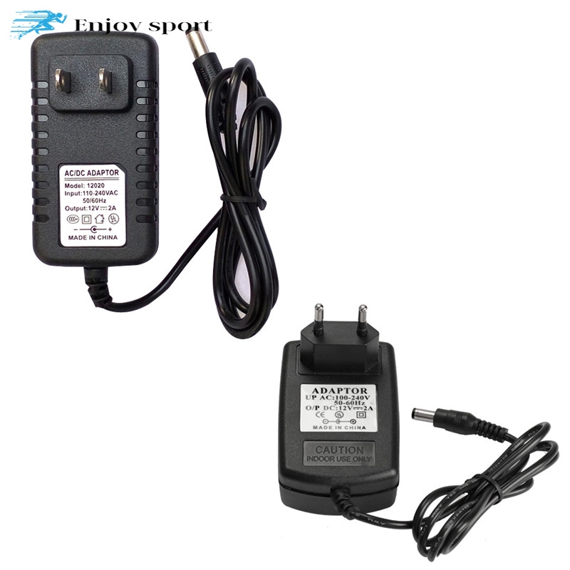 US Plug Power Supply AC 100-240V to DC 12V 1A Switching Converter Adapter