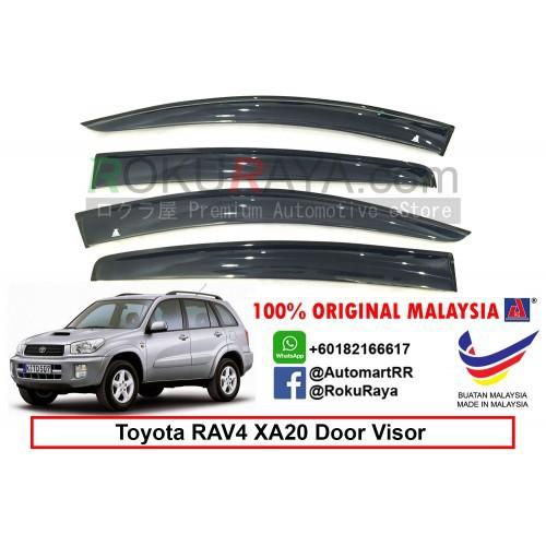 Toyota RAV4 XA20 (2nd Gen) 2000-2005 AG Door Visor (Big 12cm Width)
