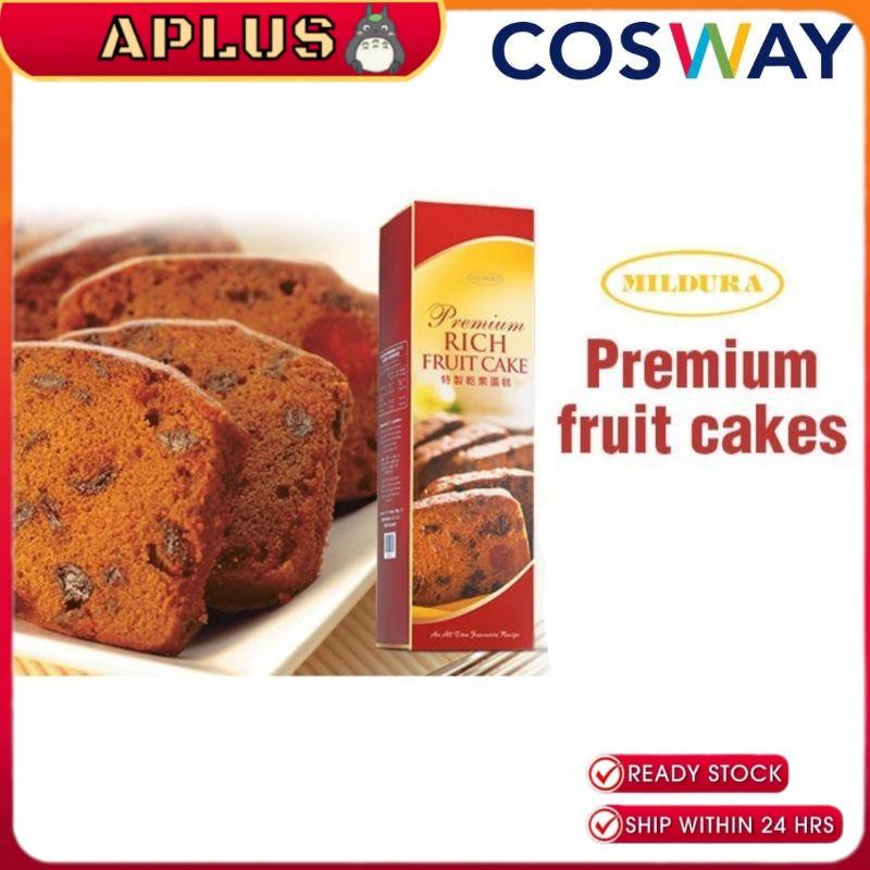 Cosway Halal Mildura Premium Rich Fruit Cake 800g (Cosway Kek Buah Buahan)