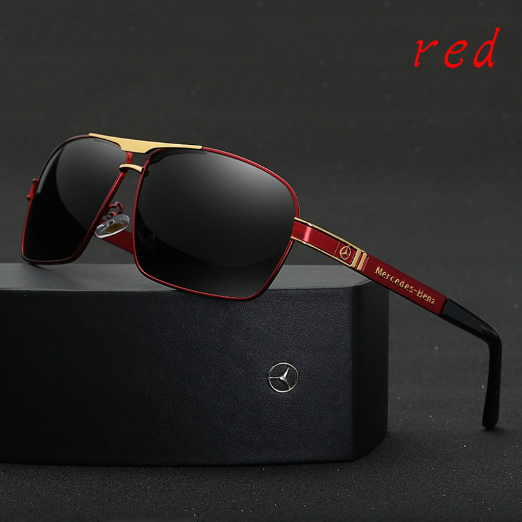 459cb2c8fd4 Mercedes Benz Men s Sunglasses Mirror Fashion Glasses