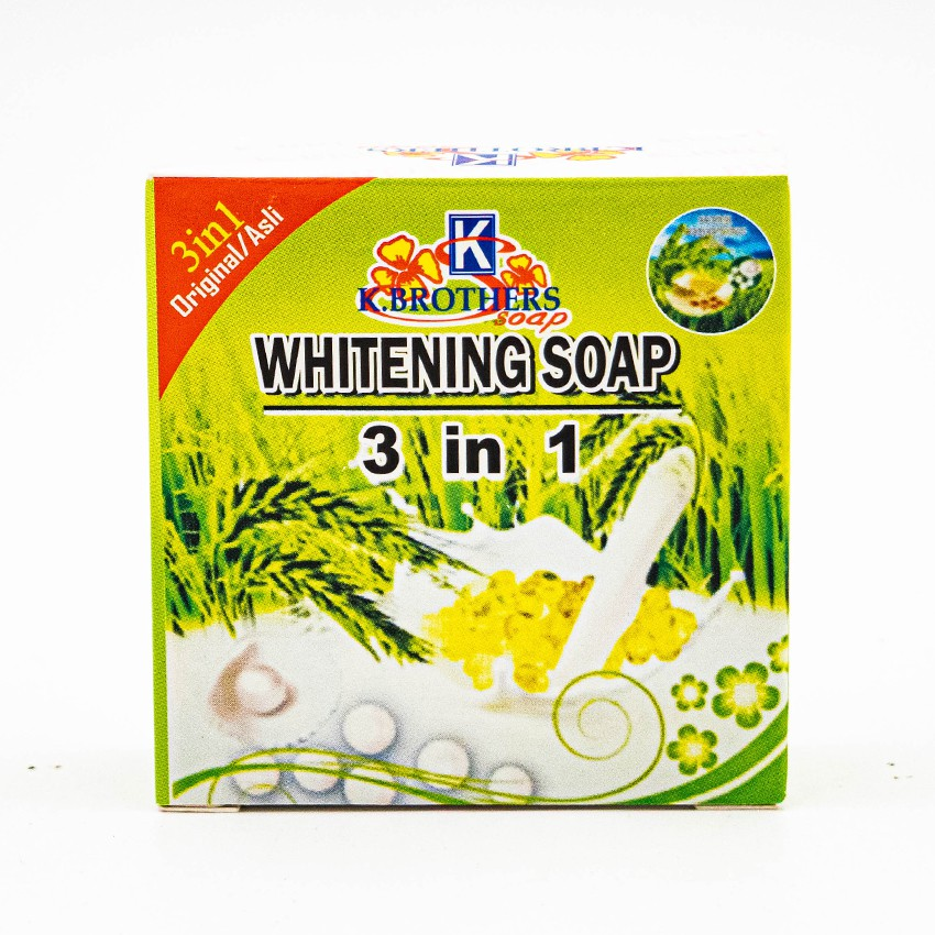 K Brothers Whitening Soap