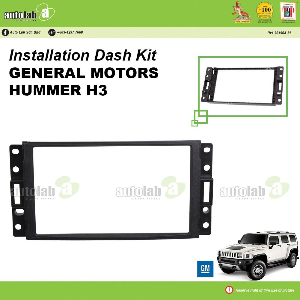 Player Casing Double Din General Motors Hummer H3
