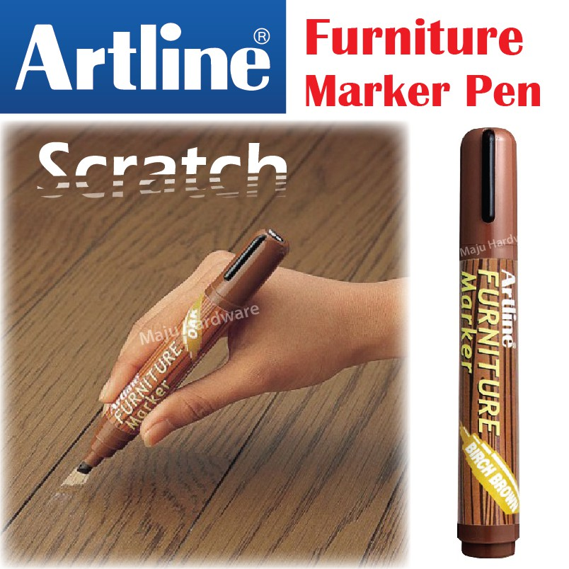 Artline An Furniture Marker Pen Scratch Table Chair Stair Flooring Sho Malaysia