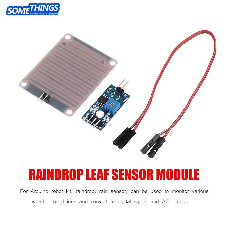 Popular Brand Rain Water Sensor Module Electronic Components & Supplies Dc 5v Relay Control Module Rain Sensor Water Raindrops Detection Module For Arduino Robot Kit 5pcs Integrated Circuits