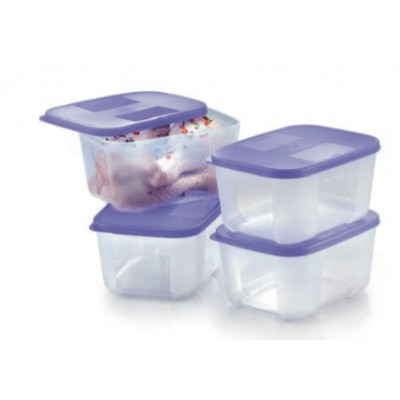Tupperware FreezerMate Small II 650ml (Purple) 2PCS
