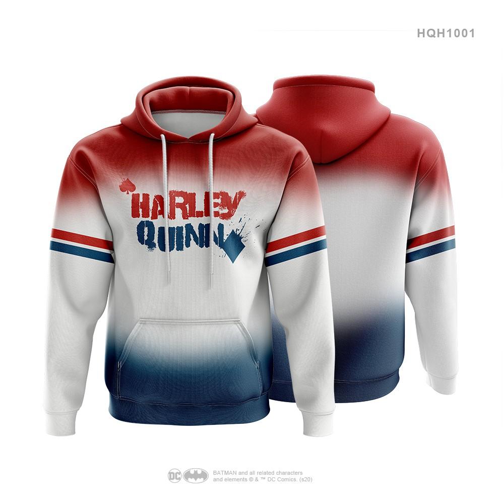 Harley Quinn Sweater Hoody Sport Jacket Gym Jacket Hoody