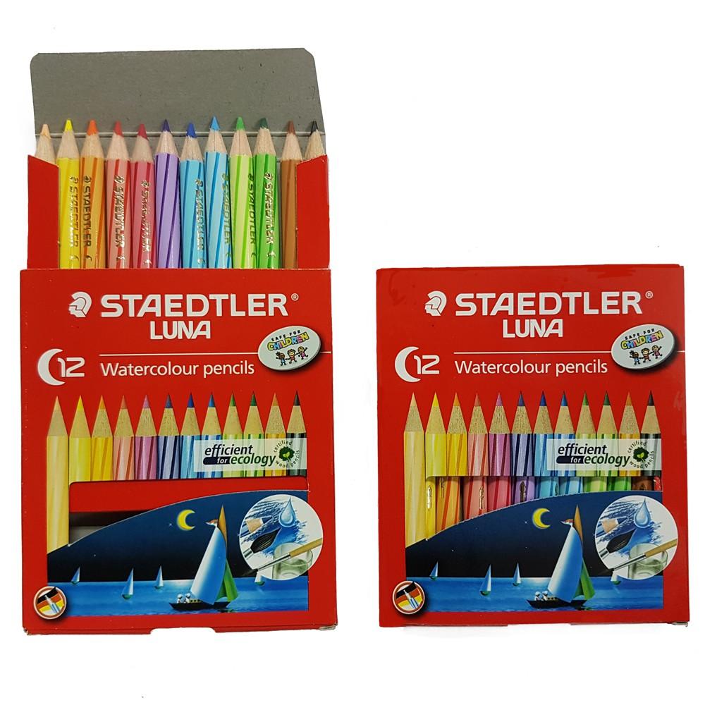 Staedtler Luna 24 Watercoloured Pensils Pensil Warna Daftar Harga Aquarell Watercolour Pencils 137 C36 Water Colour