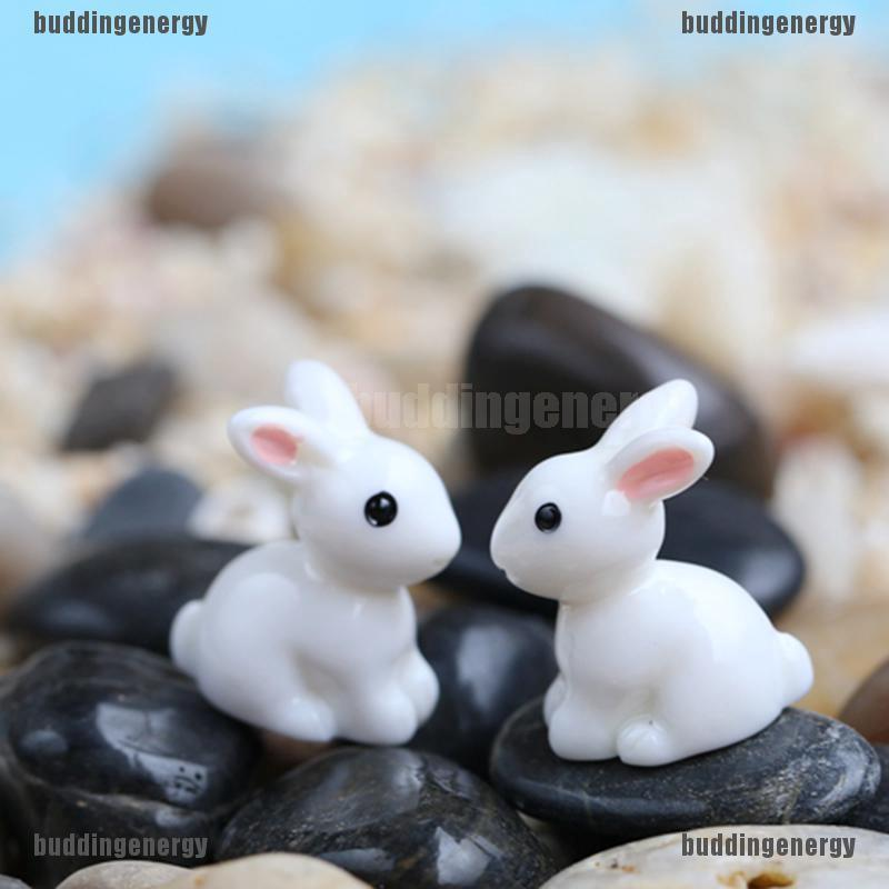 2Pcs Creative Resin Animal Model Chicken Figures For Fairy Garden Decor DIY