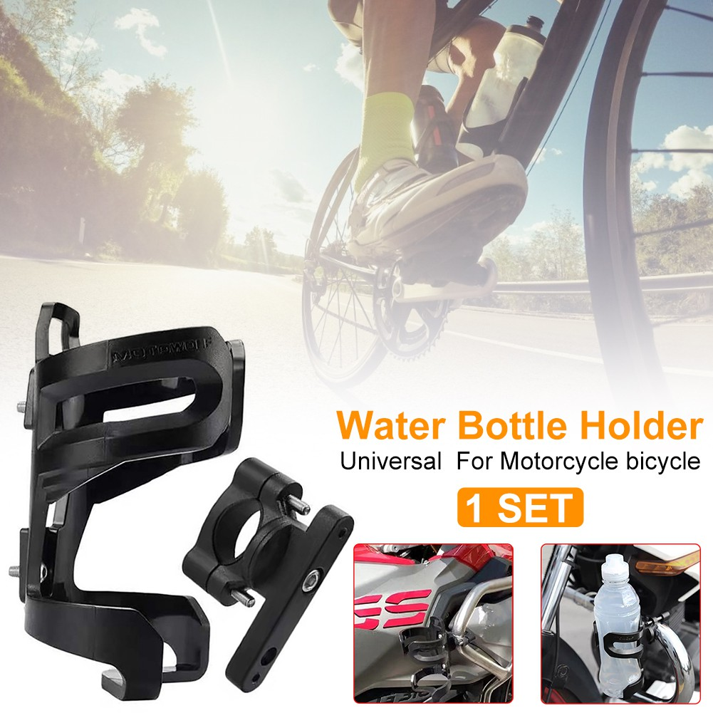 Bike Bicycle Handlebar Water Bottle Drink Cup Holder Mount Cage Riding JS