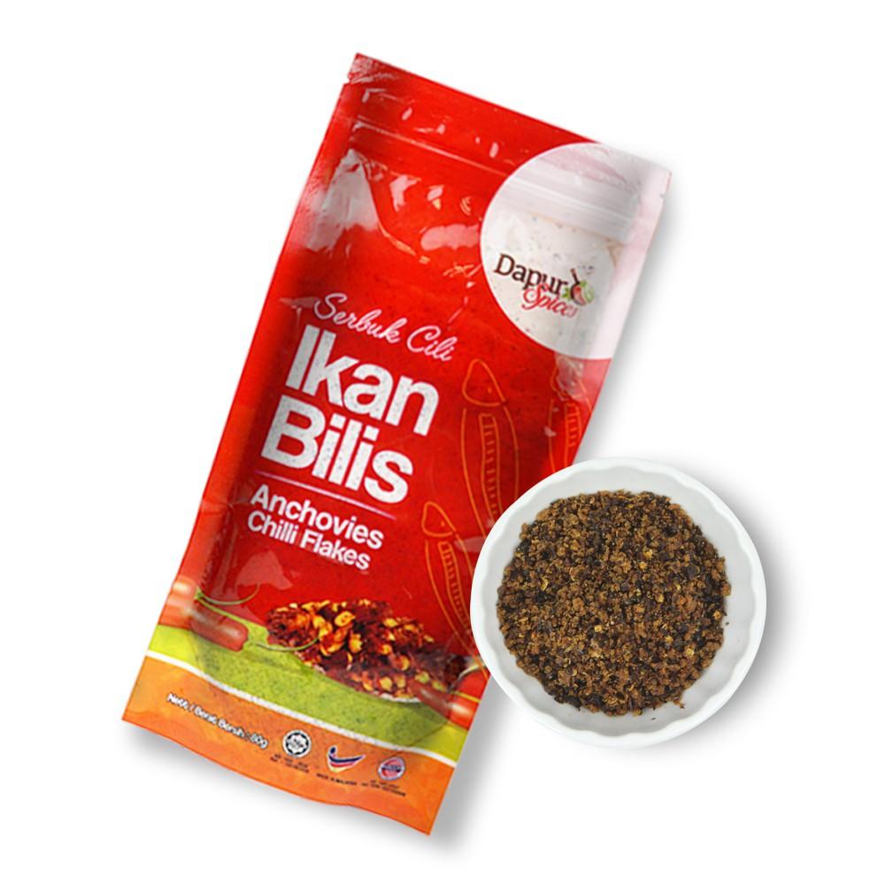 PREMIUM SELECTED Ikan Bilis Chili Flake,Taste the freshness of Ikan Bilis.