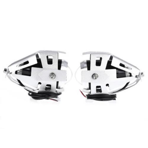 2PCS U5 3000LM 125W UPPER LOW BEAM MOTORCYCLE HEADLIGHT LED MOTORBIKE SPOT LAMP