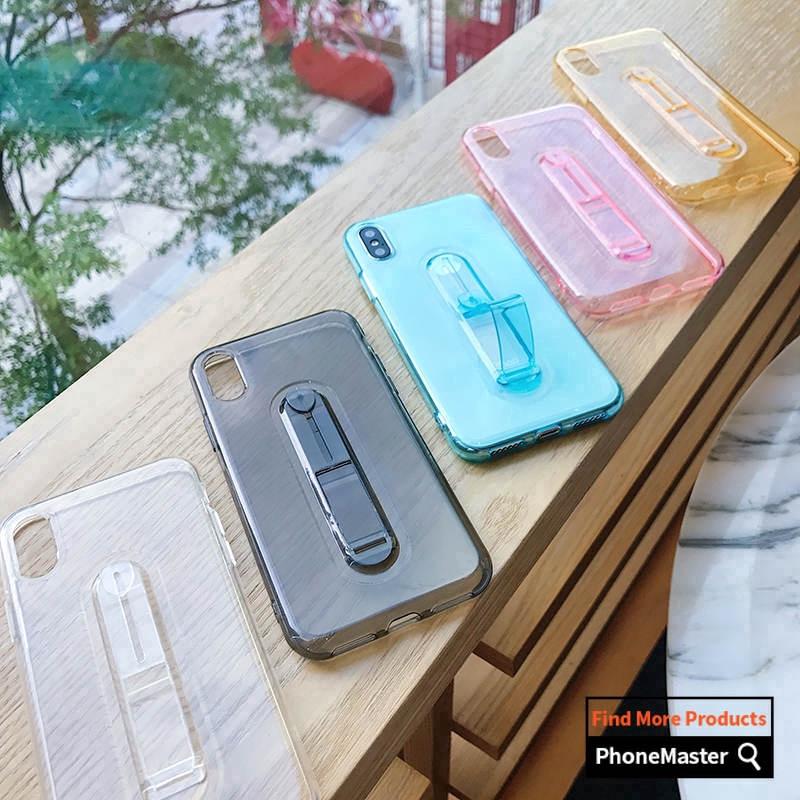 Samsung J7 ON7 2016 Prime Soft Silicon Case Hide Ring Stand Holder Back  Cover