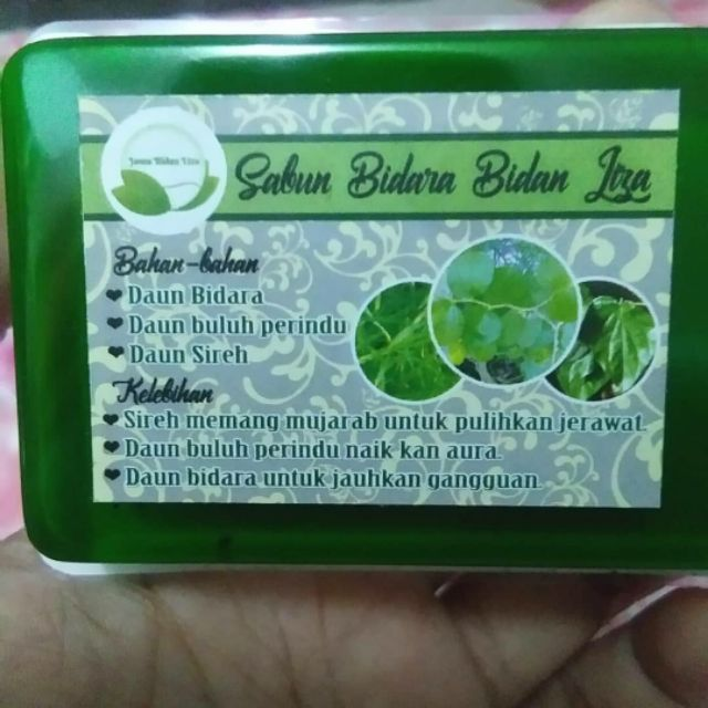 Sabun Bidara Buluh Perindu 60g by Bidan Liza - Hindar Anasir Jahat dan Bangkitkan Aura Pemakai