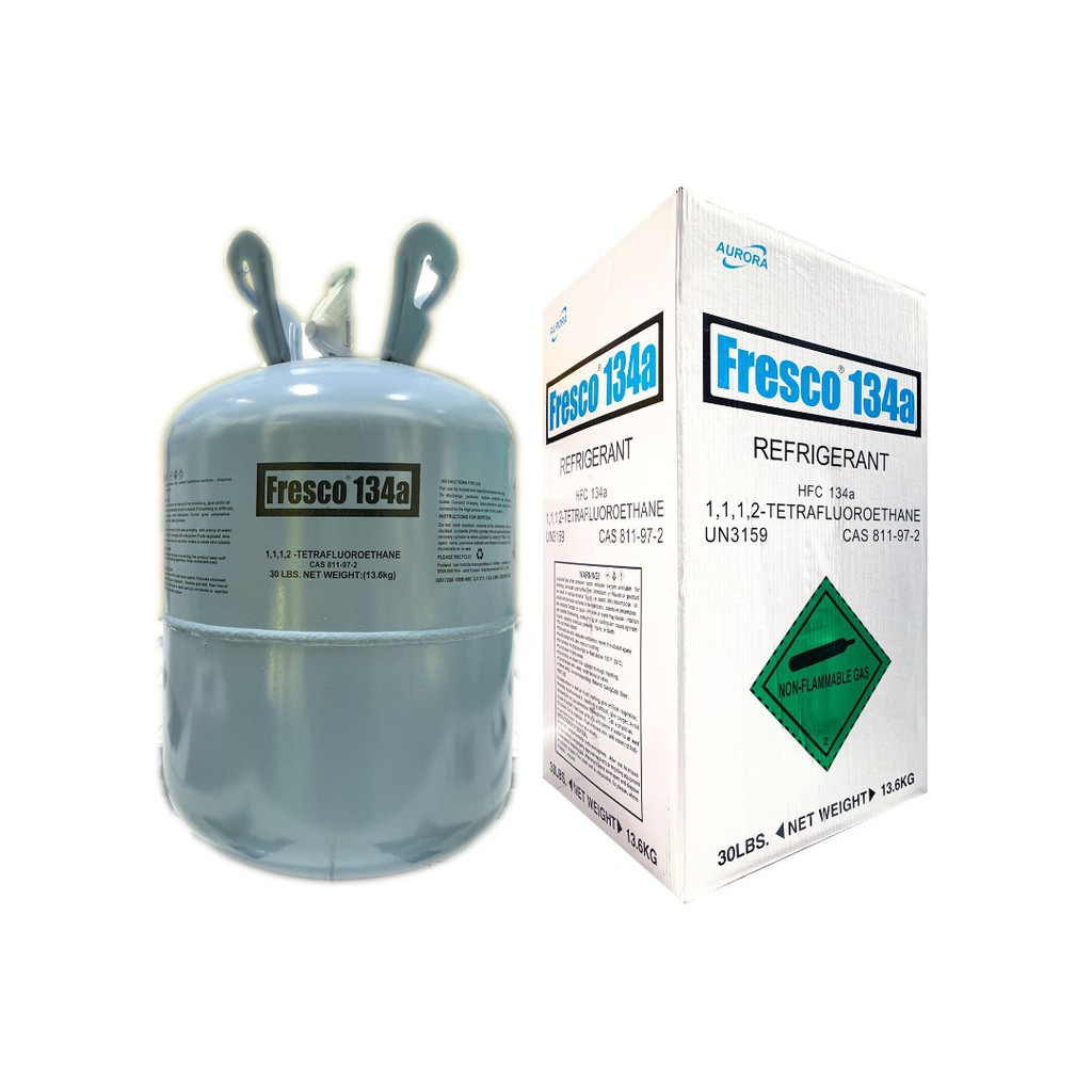 Fresco 134A  Refrigerant Gas 13.6 KG