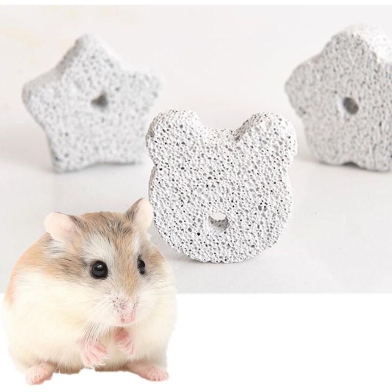 Ogquaton Rabbit Chinchilla Guinea Pigs Available Volcanic Rock Pet Teeth Grinding Stone