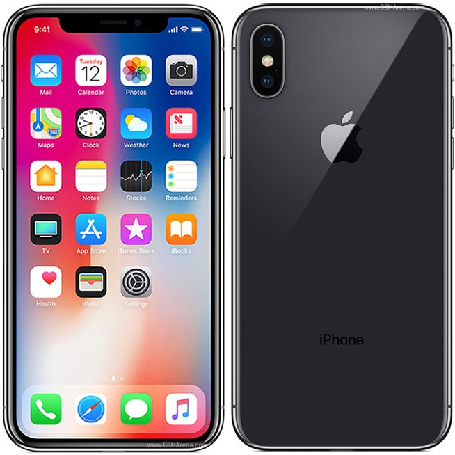 100 Original Iphone X 5 8 Inch 3gb 64gb Lte Secondhand 95 Good Condition