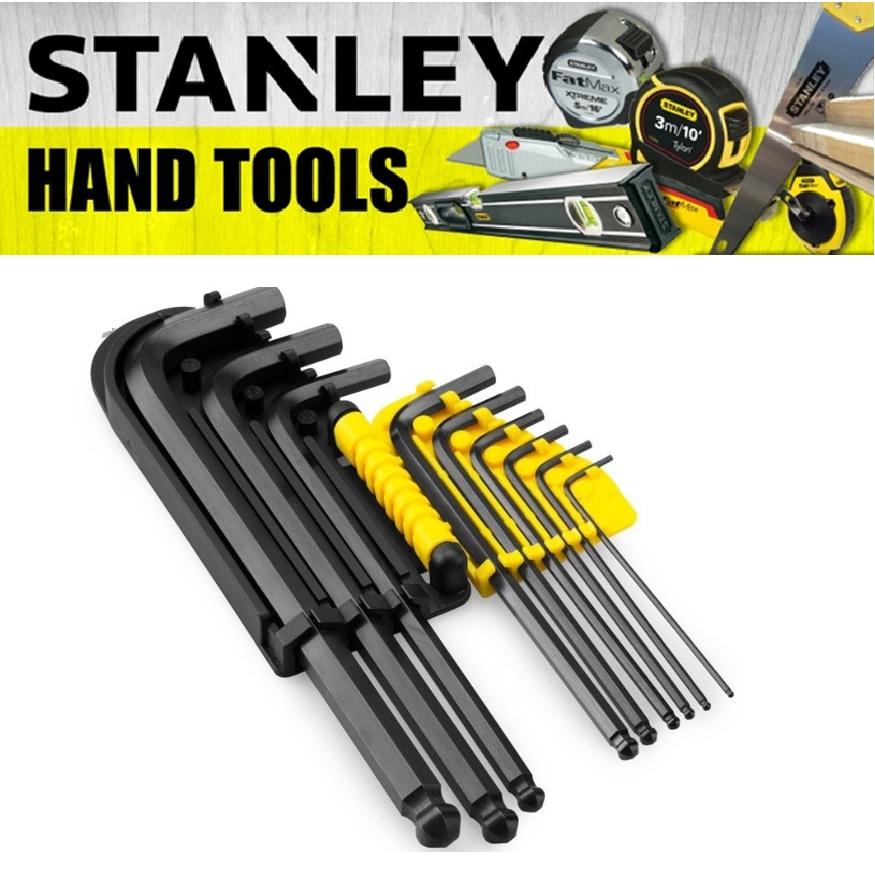 STANLEY HEX KEY SET 9PCS 12PCS L-ARM MM L-ARM IMP 69-256  69-257
