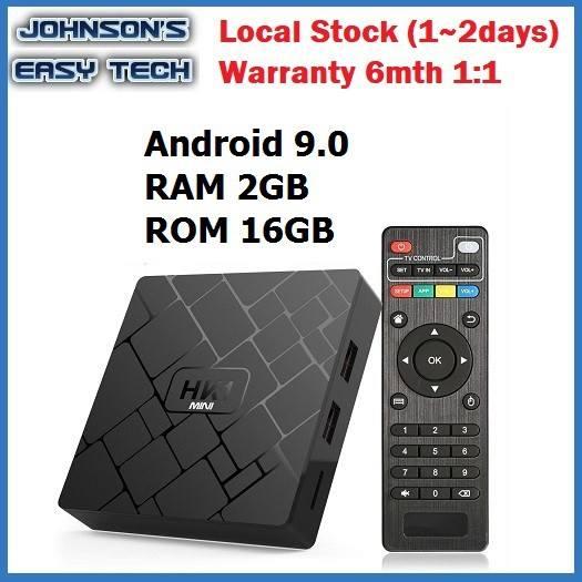 M'sia Pre-install channels & apps Android 9 0 HK1 mini 2g16g Smart TV box  tvbox