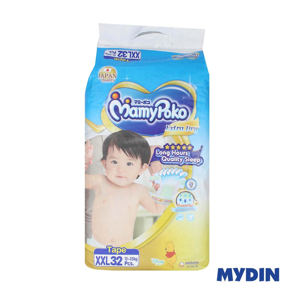 Mamypoko Open Tape Extra Dry XXL32