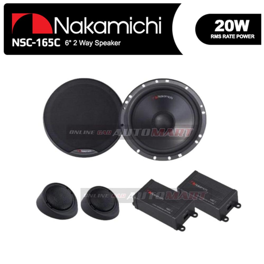 "NAKAMICHI NSC 165C 16cm 6"" 2-Way Component System Speaker"