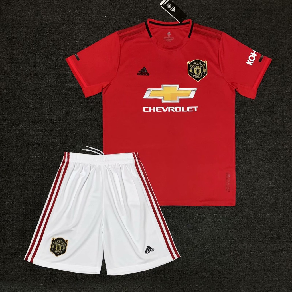2017/18 Manchester United home kit football jersey soccer jersey | Shopee Malaysia