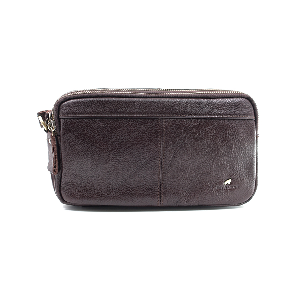 RAV DESIGN 's Men 2 Way Waist Bag Genuine Leather |RVY473G2