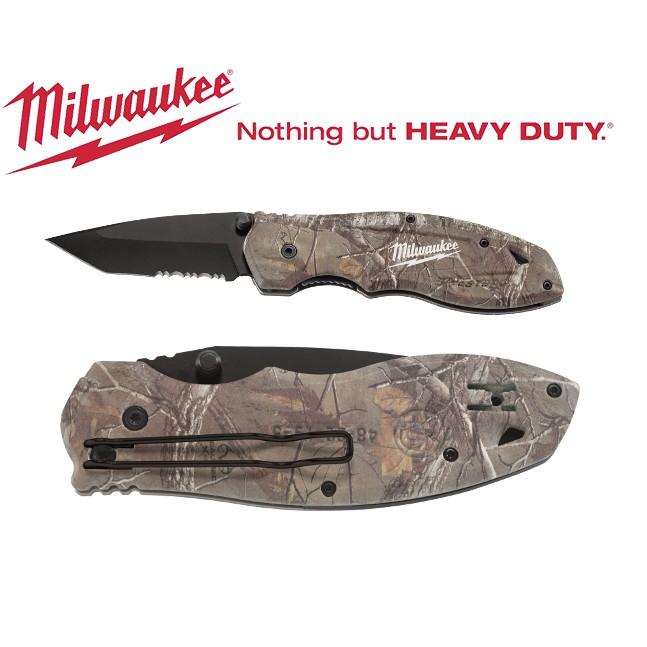Milwaukee FASTBACK Camo Spring Assisted Knife (48-22-1535)