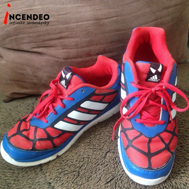 Authentic adidas Spider-Man Shoes