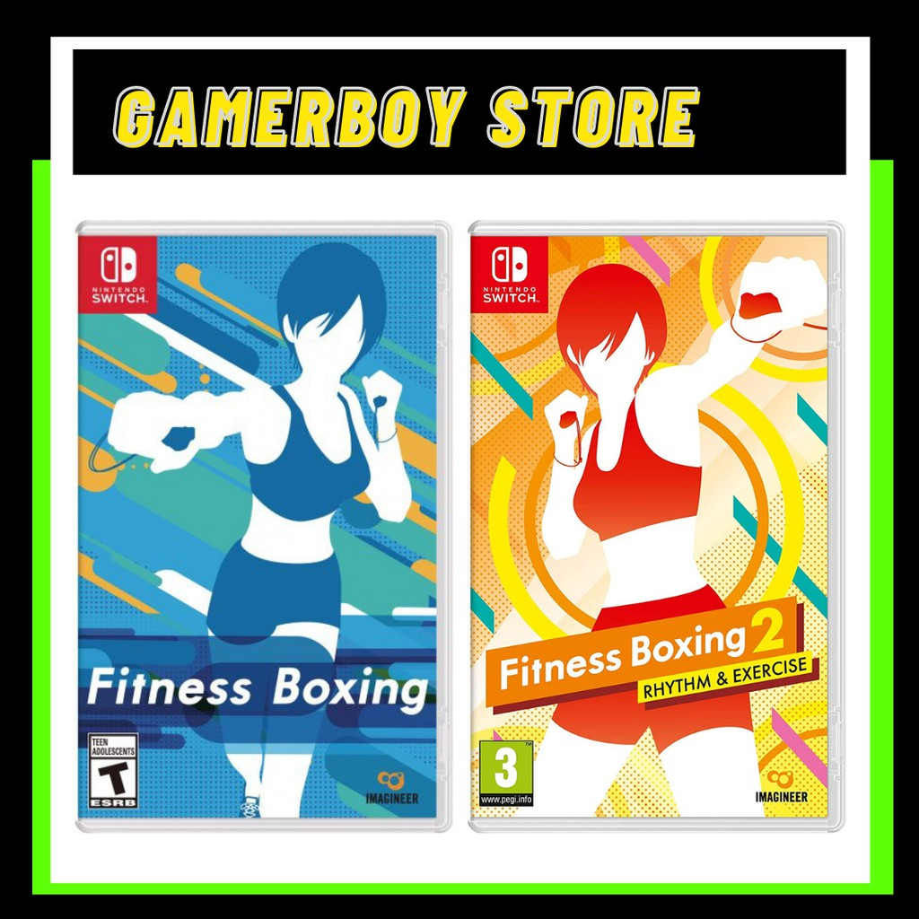 NINTENDO SWITCH FITNESS BOXING (PHYSICAL)