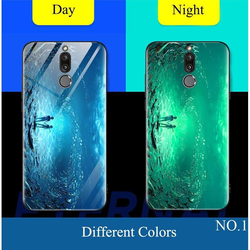 (AnnieAnn)Huawei Nova2i Nova3i Nova3 Y9 luminous HD Tempered Glass Hard Phone