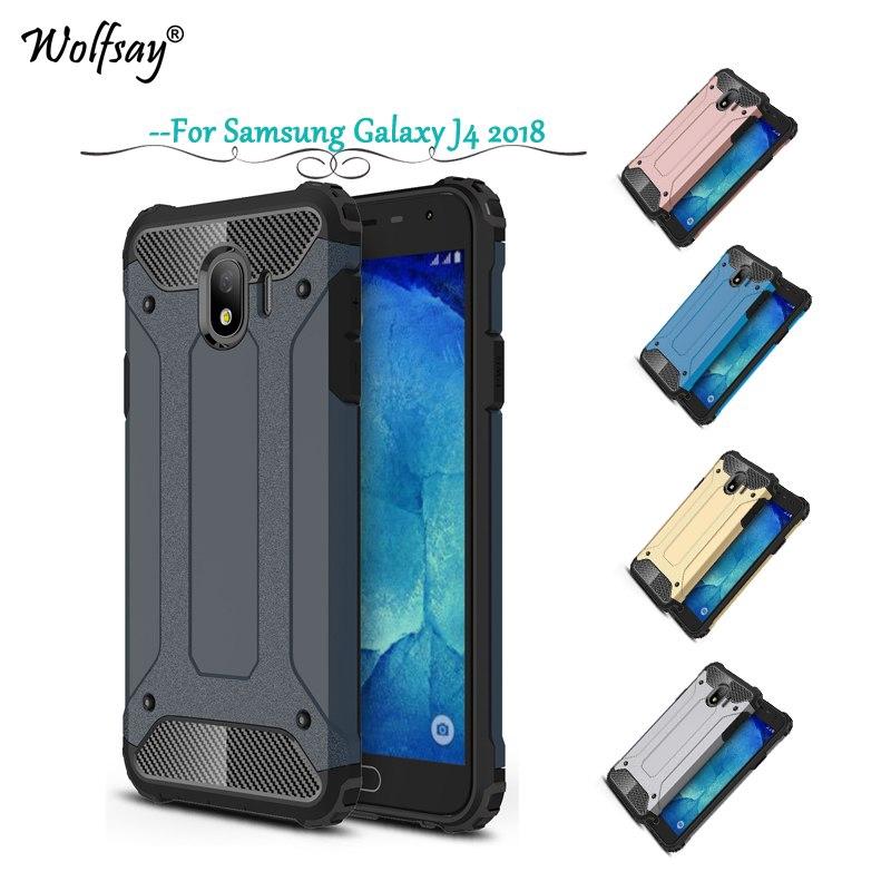 Samsung Galaxy J4 2018 Phone case & Fashion Armor Shockproof Cover