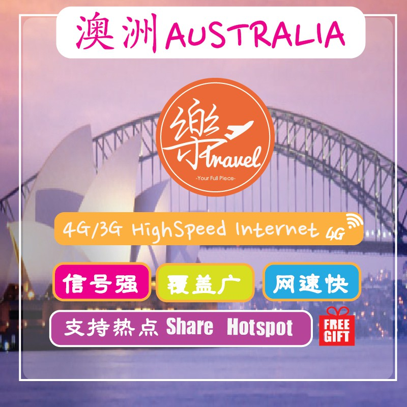 DIRECT IMPORTED Australia 12Gb Internet Travel Sim Card+FREE GIFT