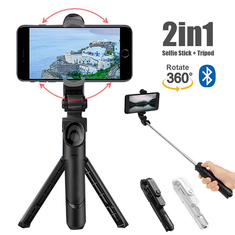 c50c50c0bb6bd9 🔥Hot Sale🔥360 3 in 1 Bluetooth Selfie Stick Monopod Tripod for IOS /  Android | Shopee Malaysia