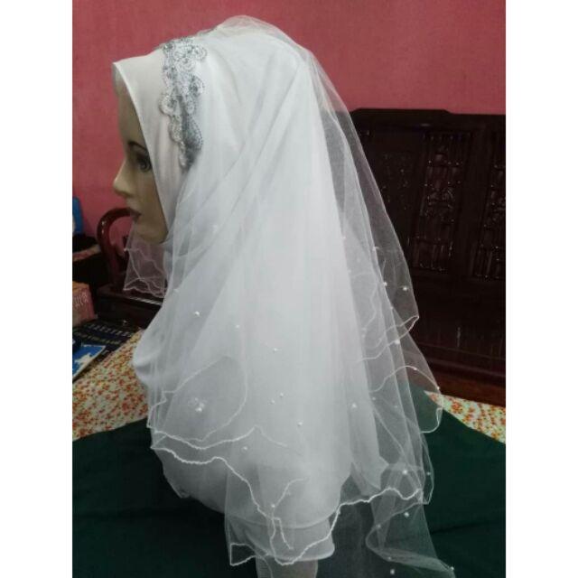 680c96bdda572 Veil nikah material soft net