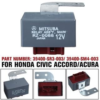 Fuel Pump Main Relay For Honda Civic Del Sol CR-V Accord CRX Acura 39400-SR3-003