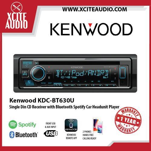 Kenwood KDC-120U Single Car Headunit